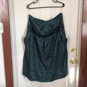 Strapless cocktail dress. Maurice's size 3